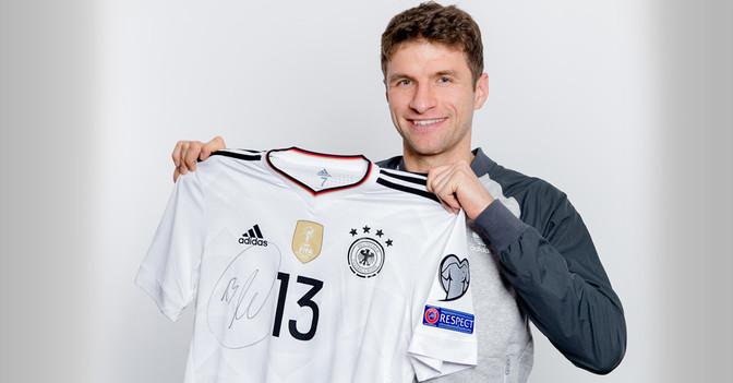 Müllers DFB Trikot