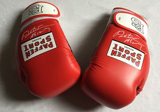 Abrahams Boxhandschuhe