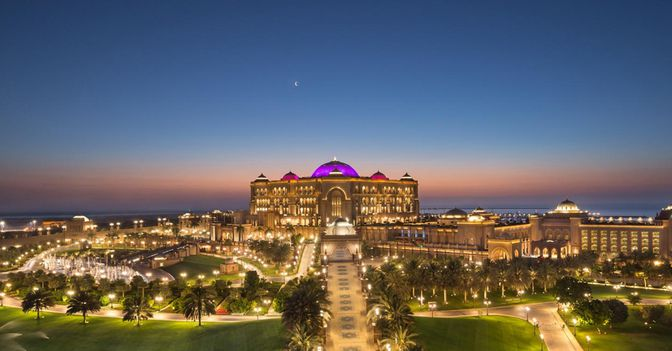 Abu Dhabi Luxus Reise