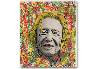 Acrylportrait Rolf Eden