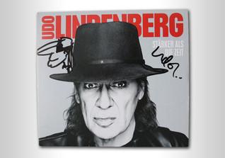 Album signiert Lindenberg