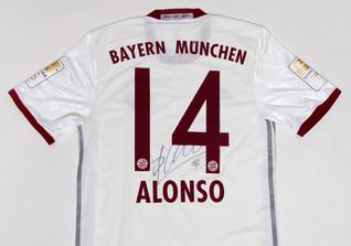 Alonso letztes FCB Trikot