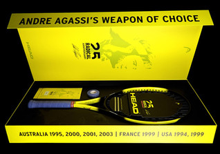Andre Agassi Racket Box
