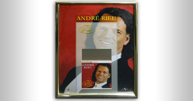 Andre Rieu Gold Award