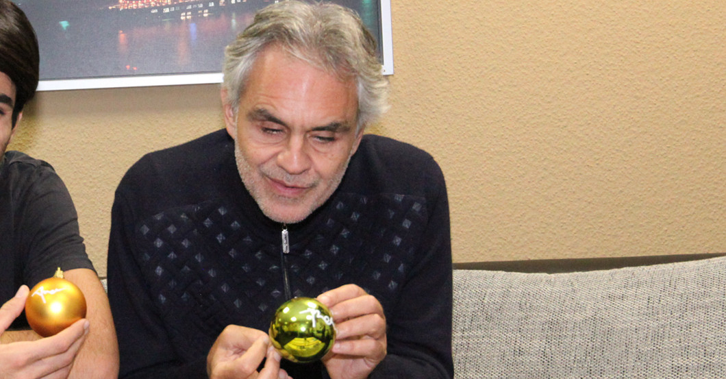 Andrea Bocelli Kugel