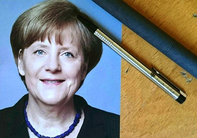 Angela Merkel Set