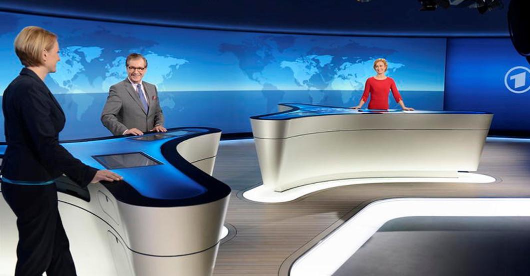 ARD Tagesschau backstage