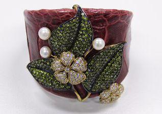 Bangle Flower Leaf