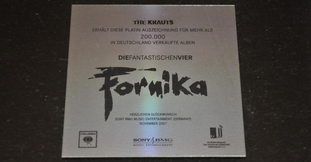 Award The Krauts