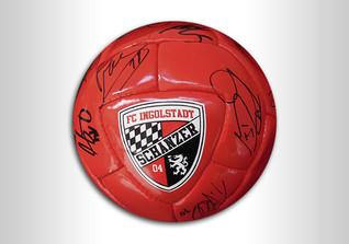 Ball des FC Ingolstadt