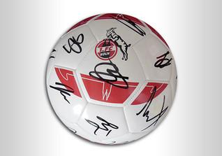 Ball des FC Köln