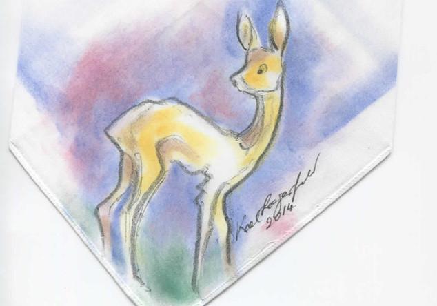 BAMBI-Zeichnung Lagerfeld