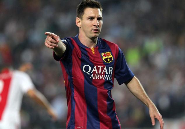 Barca-Trikot von Messi