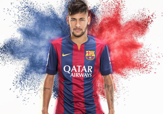 Barca-Trikot von Neymar
