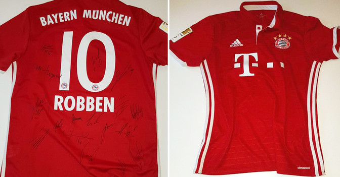 Bayern Heimtrikot
