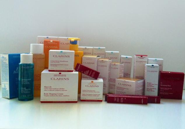 Beauty Paket von Clarins