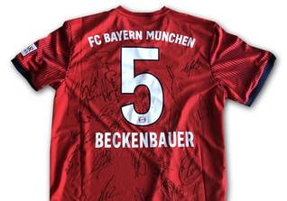 Beckenbauer Bayern Trikot