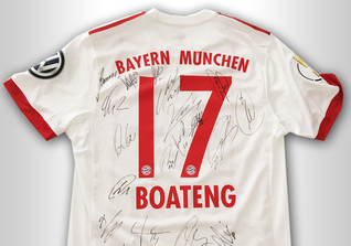 Boatengs Pokaltrikot
