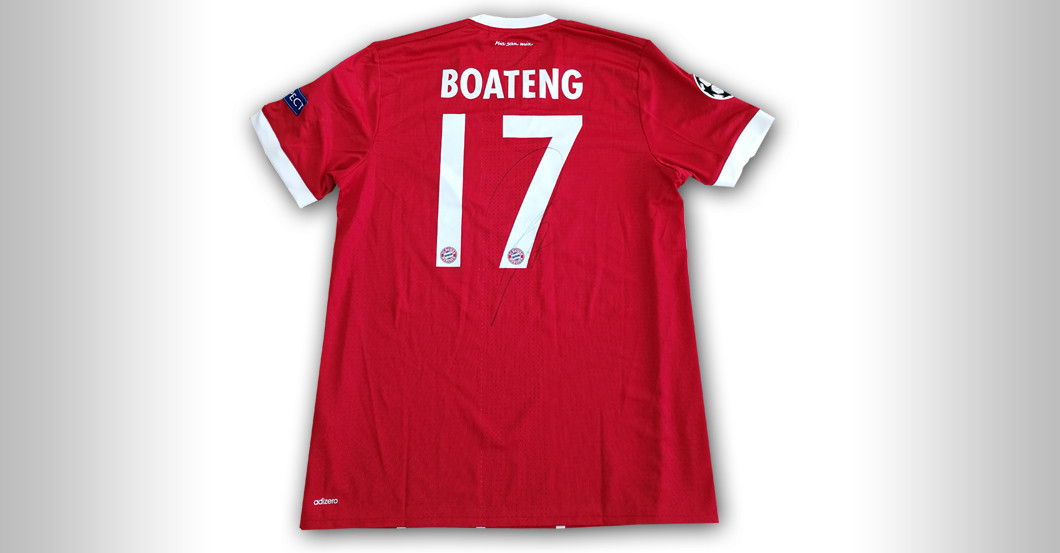 Boatengs Trikot