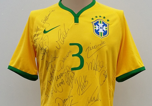 Brasilien-Trikot Miranda