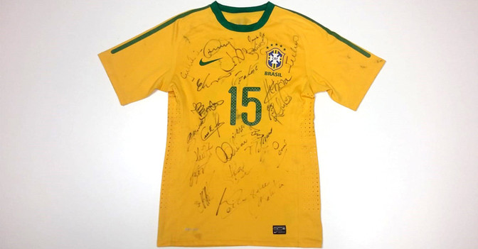 Brasilien Trikot Silva