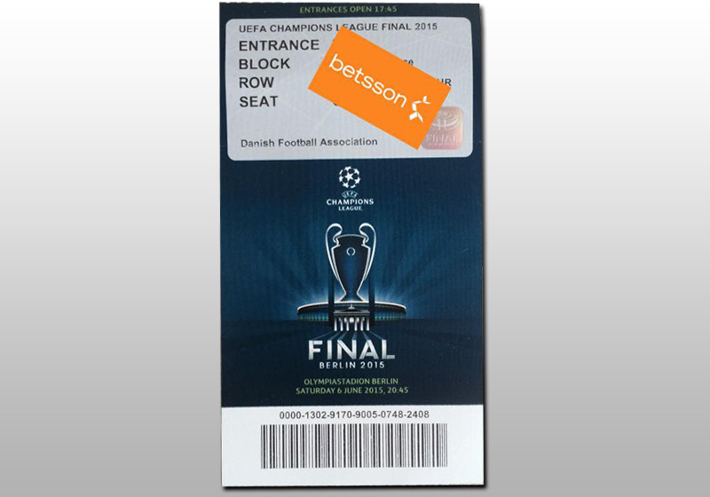 ticket champions league finale