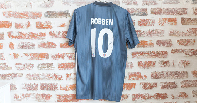 factory price 07f44 204f2 Arjen Robben / United Charity - Auktionen für Kinder in Not