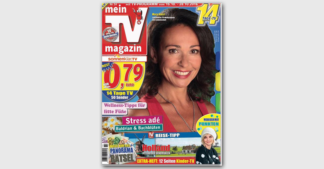 Cover Shooting TV magazin