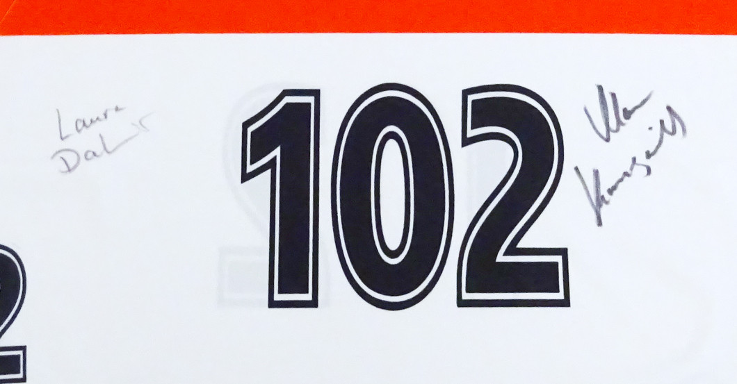 Dahlmeiers Startnummer