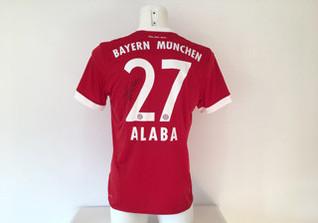 David Alaba FCB Trikot