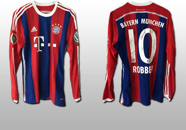 DFB-Pokal-Trikot Robben