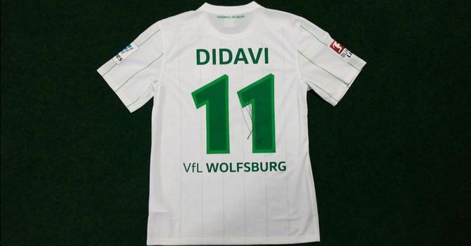 Didavis Wolfsburg Trikot