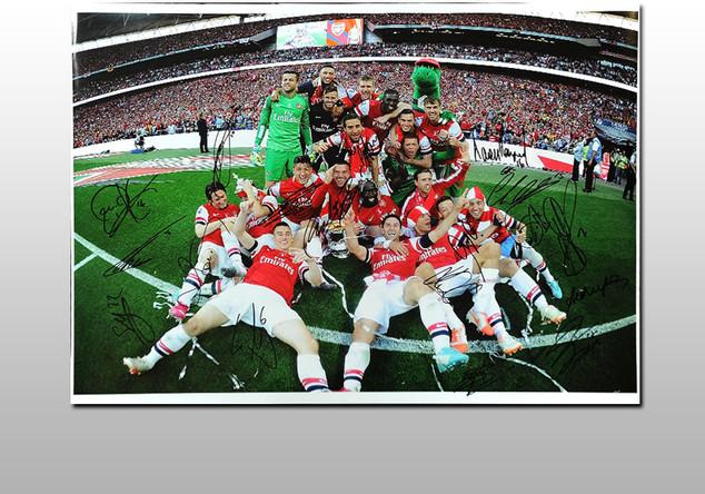 FA Cup Siegerfoto 1