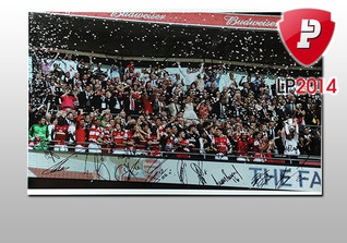 FA Cup Siegerfoto 3