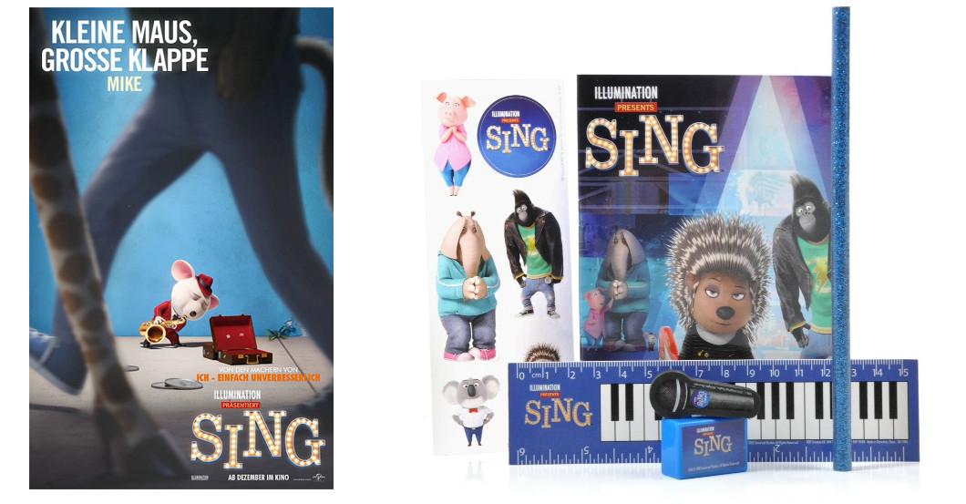 Fanpaket Sing