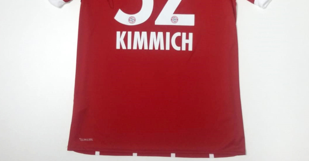 huge discount 990cf 1e254 Signed Shirt Donated by Bayern Munich Back Joshua Kimmich