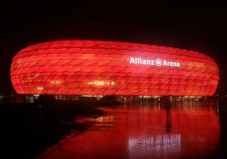 FC Bayern gegen Darmstadt