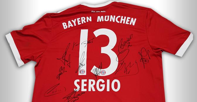 FC Bayern Trikot Legenden