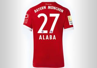 FCB Trikot Alaba