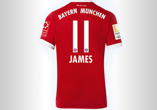 FCB Trikot James
