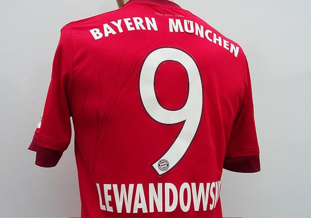 FCB Trikot Lewandowski