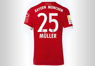 FCB Trikot Müller