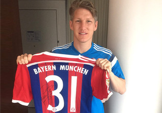 FCB-Trikot Schweinsteiger
