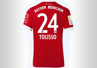 FCB Trikot Tolisso