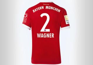 FCB Trikot Wagner