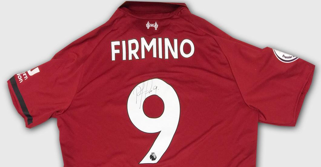 new product 416b2 838e0 Bayern Munich vs Liverpool: Firmino's Champions League Shirt