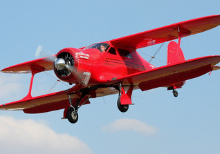 Flight Beech Staggerwing