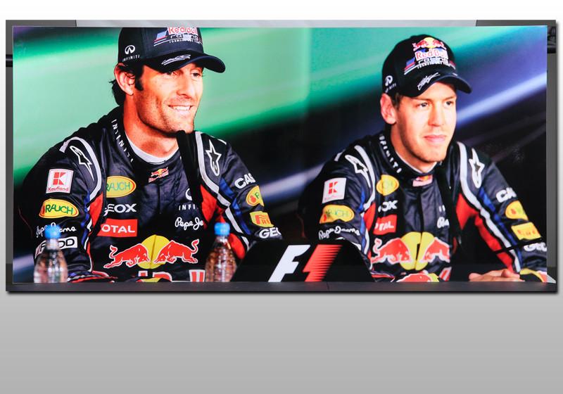 Fotodruck Vettel
