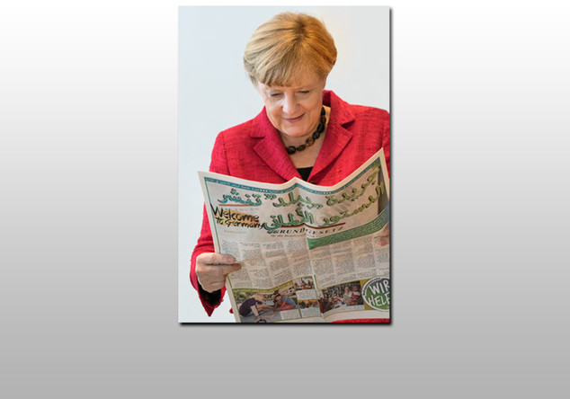 Fotografie Angela Merkel