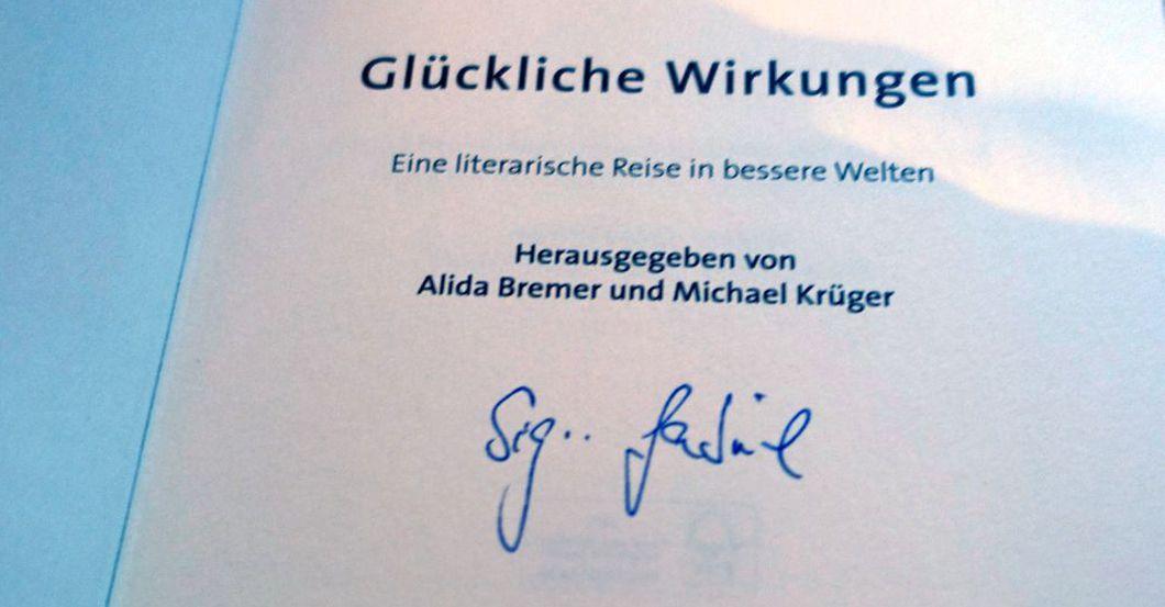 Gabriel signed Book